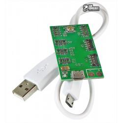 Плата активации и зарядки аккумуляторов iPhone 4/5/6/7, W111A