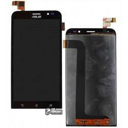 Дисплей для Asus Zenfone Go (ZB552KL) 2017, черный, с сенсорным экраном (дисплейный модуль), original (PRC)
