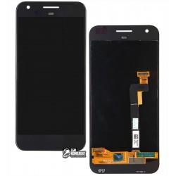 Дисплей для HTC S1 Google Pixel, черный, с сенсорным экраном (дисплейный модуль)