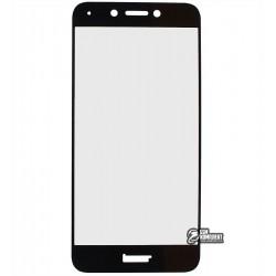 Закаленное защитное стекло для Huawei Honor 6A, 0,26 mm 9H, черное