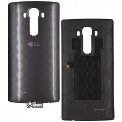 Задняя крышка батареи для LG G4 F500, G4 H810, G4 H811, G4 H815, G4 H818N, G4 H818P, G4 LS991, G4 VS986, серая