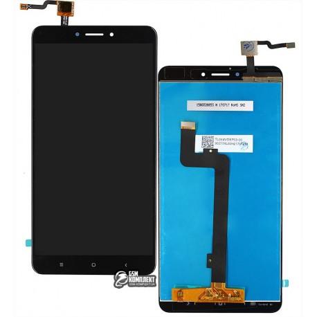 Дисплей для Xiaomi Mi Max 2, черный, с сенсорным экраном, original (PRC)