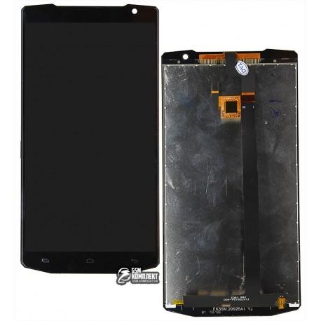Дисплей для Oukitel K10000, чорний, з сенсорним екраном