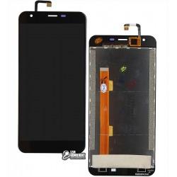 Дисплей для Oukitel K7000, черный, с сенсорным экраном (дисплейный модуль)