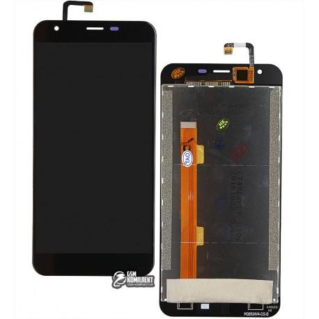Дисплей для Oukitel K7000, чорний, з сенсорним екраном