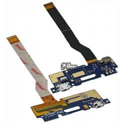"Шлейф для Asus Zenfone 3 Max (ZC520TL) 5,2"", коннектора зарядки, с компонентами"