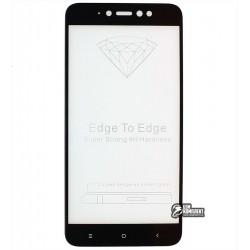 Закаленное защитное стекло для Xiaomi Redmi Note 5A Prime / Redmi Y1, 0,26 мм 9H, 2.5D, Full Glue