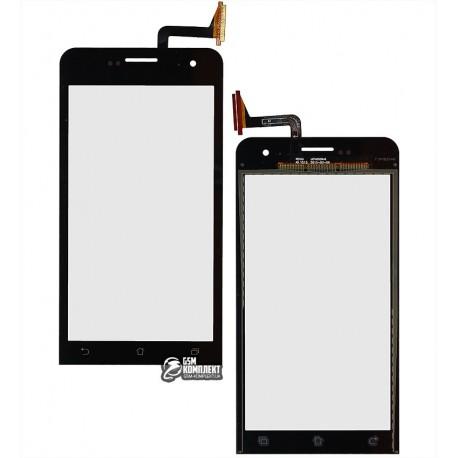 Тачскрин для Asus ZenFone 5 Lite (A502CG), черный