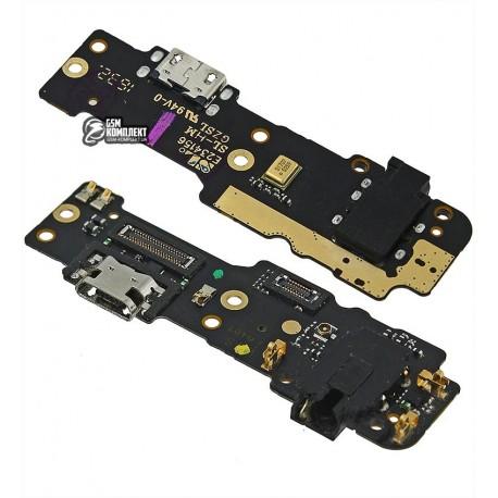 Шлейф для Meizu M3 Max, микрофона, коннектора зарядки, плата зарядки