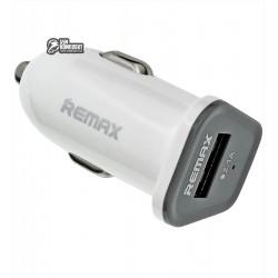 Автомобільний зарядний пристрій REMAX RCC-101 Mini, (1USB, 5V, 2.1A), 12 В