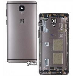 Задняя панель корпуса для OnePlus 3T A3010, черная