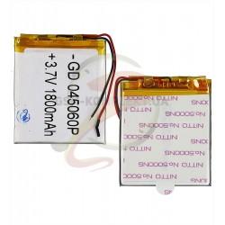 Аккумулятор универсальный, 60 мм, 50 мм, 4,0 мм, Li-ion, 3,7 В, 1800 мАч