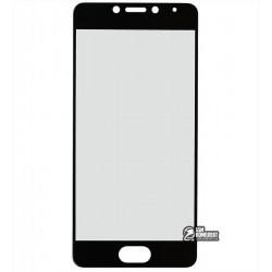 Закаленное защитное стекло для Meizu M5c 0,26 мм 9H, черное