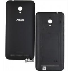 Задняя панель корпуса для Asus ZenFone Go (ZC500TG), черная