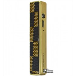 Зажигалка USB XT-4823, электрическая, со спиралью, золотая