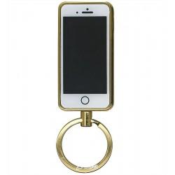 Зажигалка USB XT-4812 брелок, электрическая, со спиралью, телефон