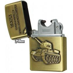 Зажигалка USB XT-4886, электроимпульсная, танк