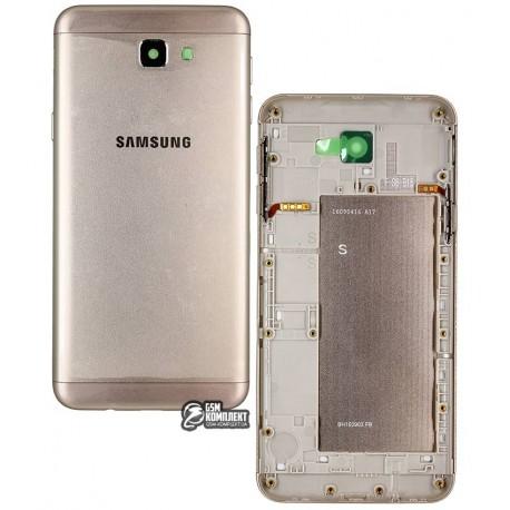 Задняя панель корпуса для Samsung G570F/DS Galaxy J5 Prime, золотистая