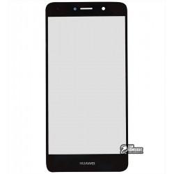Стекло корпуса для мобильных телефонов Huawei Nova Lite+, Y7 (2017), черное
