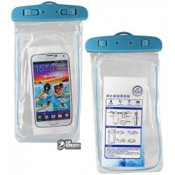 """Чехол водонепроницаемый Toto WP01 с рамкой для телефонов до 5,5"""""""