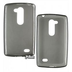 Чехол защитный для LG L Fino D295 Dual , силиконовый, черный