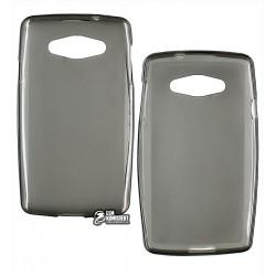 Чехол защитный для LG L60 X135/X145/X147 , силиконовый, черный