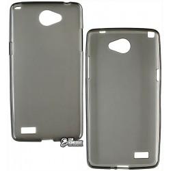 Чехол защитный для LG Max X155 Dual Sim , силиконовый, черный