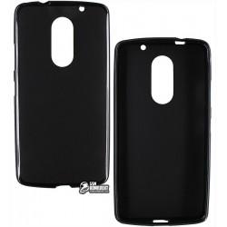 Чехол защитный для Lenovo Vibe X3, силиконовый, черный