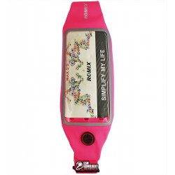 Чехол на пояс Romix RH16 Waist bag/Belt with touch screen window max 5.5' Pink