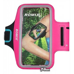Чехол на руку Romix RH07 Touch Screen Armband Case 5.5 Pink