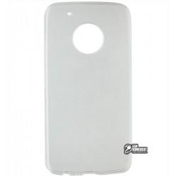 Чехол ультратонкий для Motorola Moto G5 Plus (XT1685), силиконовый, прозрачный