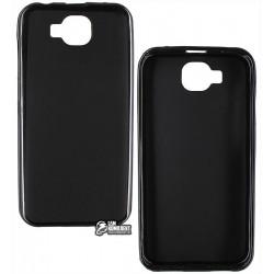 Чехол защитный для Doogee X9 mini, силиконовый, черный