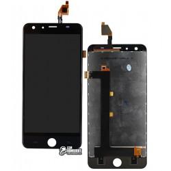 Дисплей для Ulefone Be Touch 2, Be Touch 3, черный, с сенсорным экраном (дисплейный модуль), #G55QUS52/GS00454D055-FPC-V2