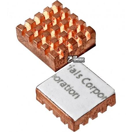 Радиатор медный для чипсета 13x12 x4 мм
