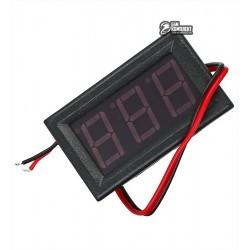 Вольтметр цифровой AC 70-500V встраиваемый красный, переменный ток