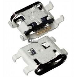 Коннектор зарядки для Motorola XT1032 Moto G, XT1033 Moto G, XT1036 Moto G, 5 pin, micro-USB тип-B