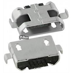 Коннектор зарядки для; планшетов, 5 pin, micro-USB тип-B, тип 14