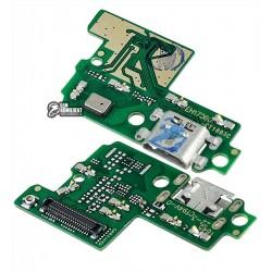 Шлейф для Huawei P10 Lite, коннектора зарядки, микрофона, плата зарядки