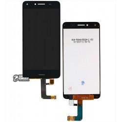 Дисплей для Huawei Y5 II, черный, с сенсорным экраном (дисплейный модуль)