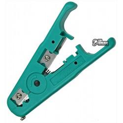 Pro'sKit 6PK-501 инструмент для зачистки проводов (стриппер)