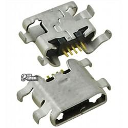 Коннектор зарядки для ZTE Blade L2, N807, N983, U807, U956, 5 pin, micro-USB тип-B