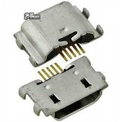 Коннектор зарядки для Lenovo Z90-7 Vibe Shot, 5 pin, micro-USB тип-B