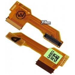 Шлейф для HTC One M7 801e, межплатный, с компонентами