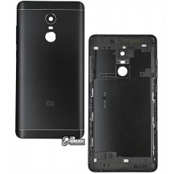 Задняя крышка батареи для Xiaomi Redmi Note 4X, черная, Qualcomm Snapdragon