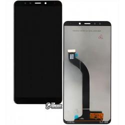 Дисплей для Xiaomi Redmi 5, черный, с сенсорным экраном (дисплейный модуль), original (PRC)