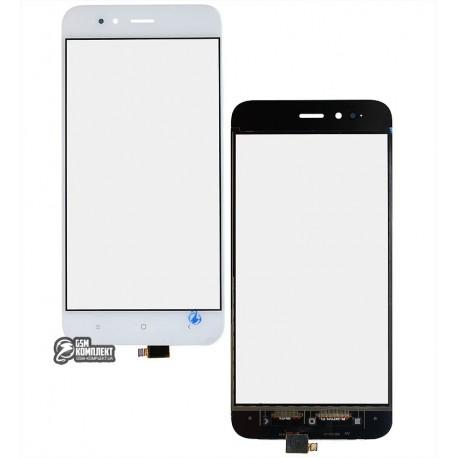 Тачскрин для Xiaomi Mi A1, білий