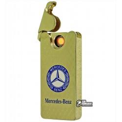 Зажигалка USB XT-4794A, электрическая, со спиралью, Opel/Mercedes