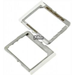 Держатель SIM-карты для LG G2 D800, G2 D802, G2 D803, белый