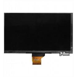 """Экран (дисплей, монитор, LCD) для китайского планшета 7"""", 40 pin, с маркировкой KR070IG0T-1154-A, HYC740DGFD, FY-70DZ02H-40PM-P0"""