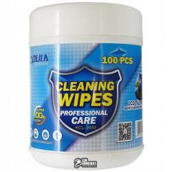 Влажные салфетки для чистки Opula KCL-2033, 100шт